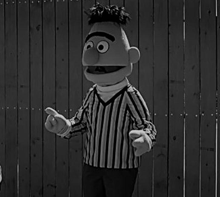 Bert in Black & White