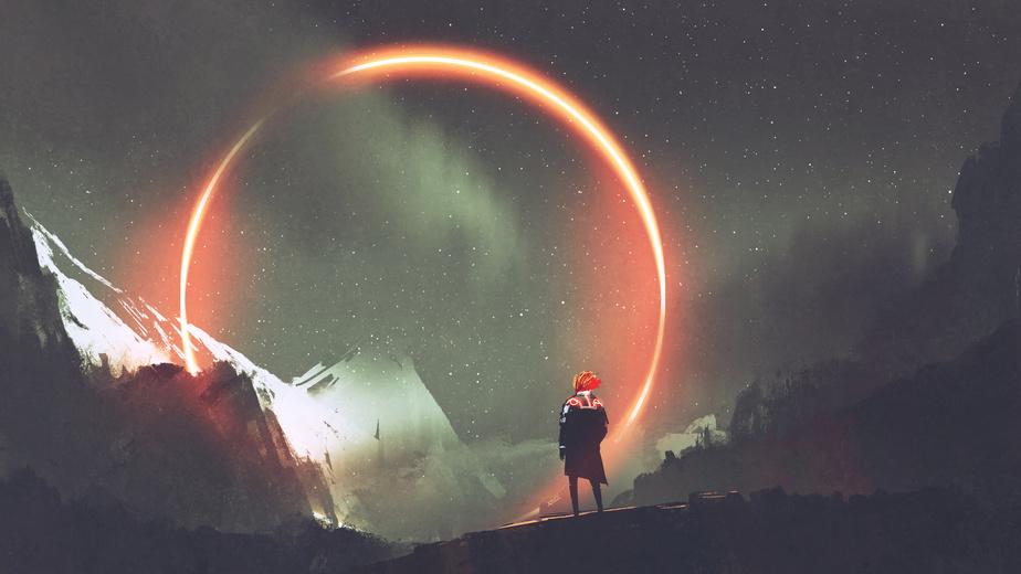 Red Circle Sci-Fi