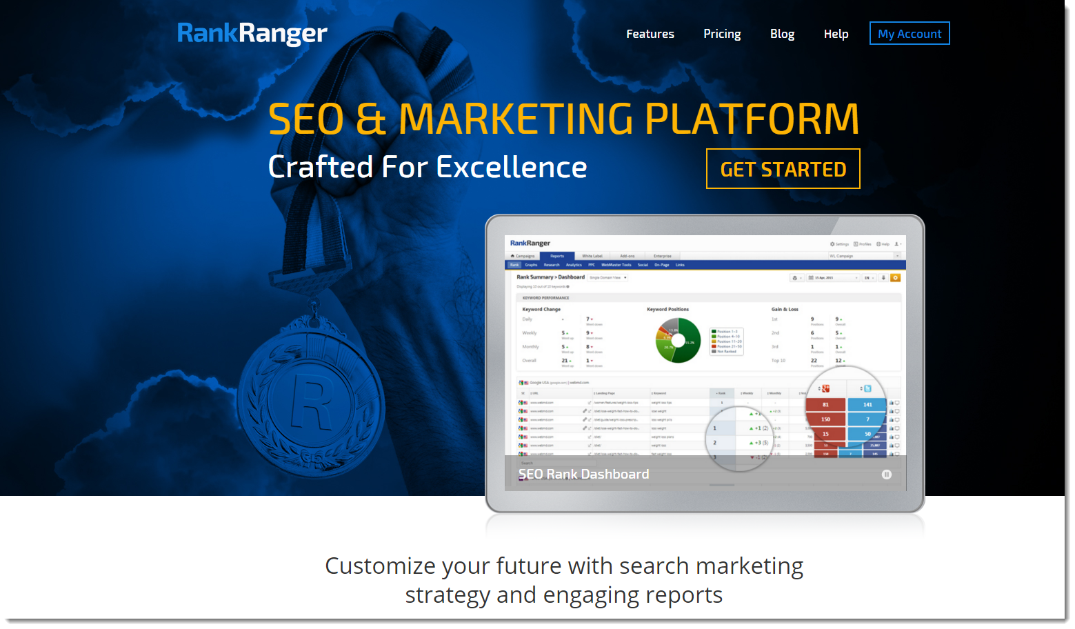 Rank Ranger SEO & Marketing Platform