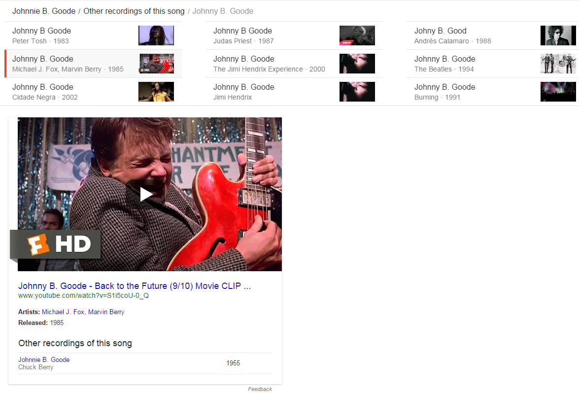 Song Carousel and Knowledge Graph