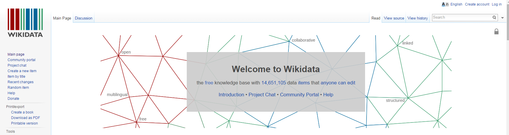 Wikidata website scheduled to be absorbing all Freebase Data