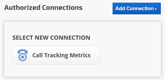 Call Tracking Metric Integration