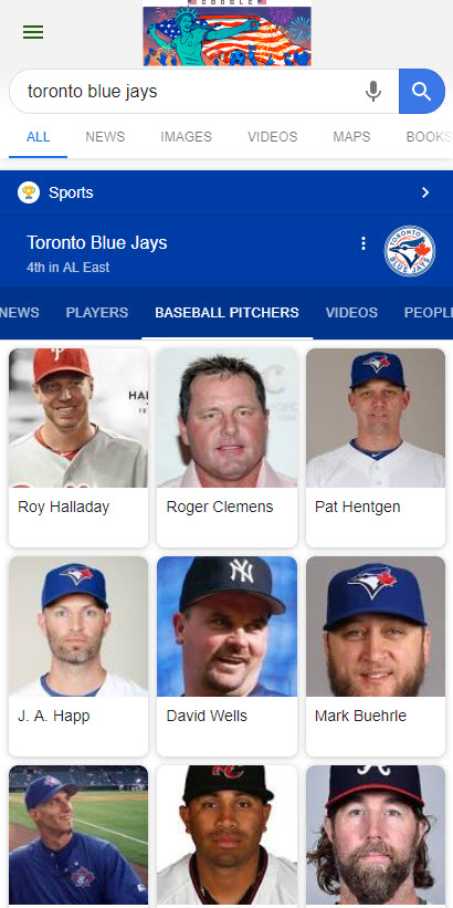 Blue Jays Knowledge Panel