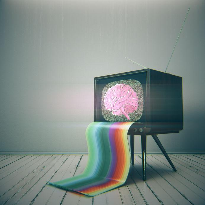 TV brain output