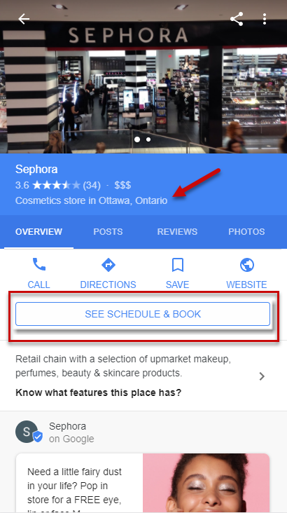 Canadian Reserve with Google