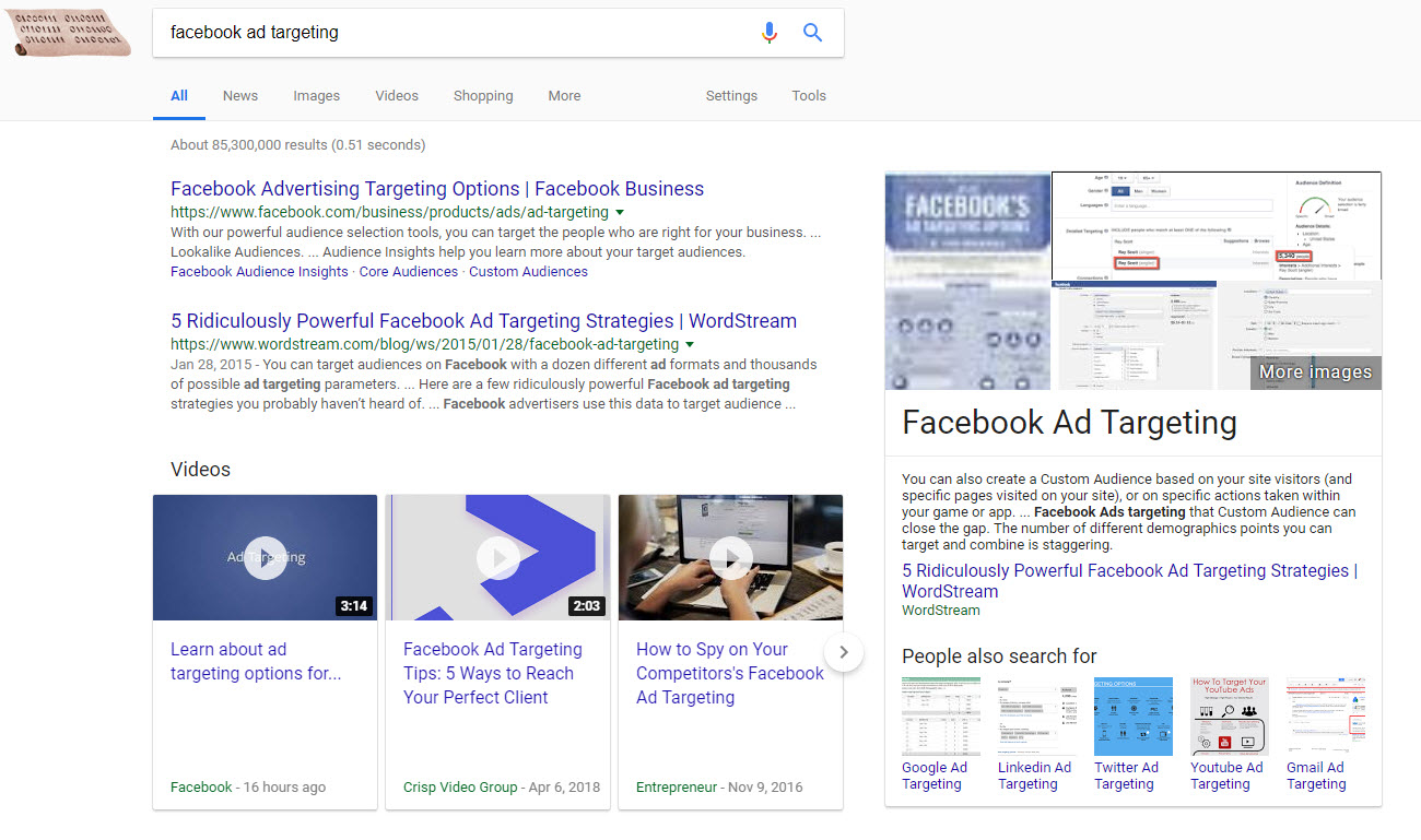 Right Side Featured Snippet