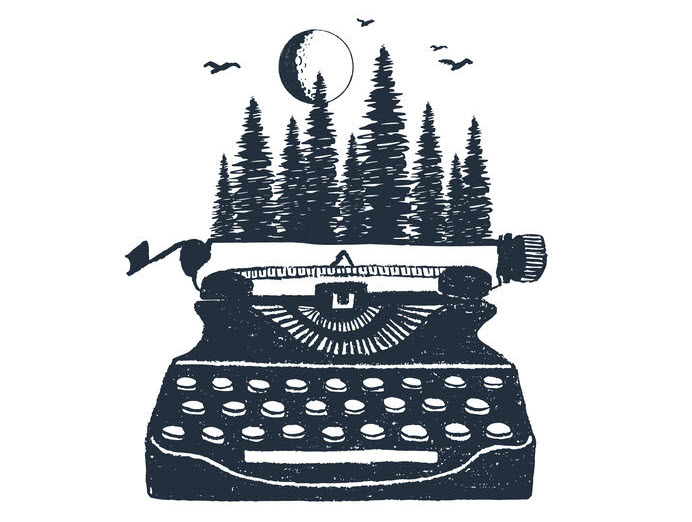 Forest Typewriter