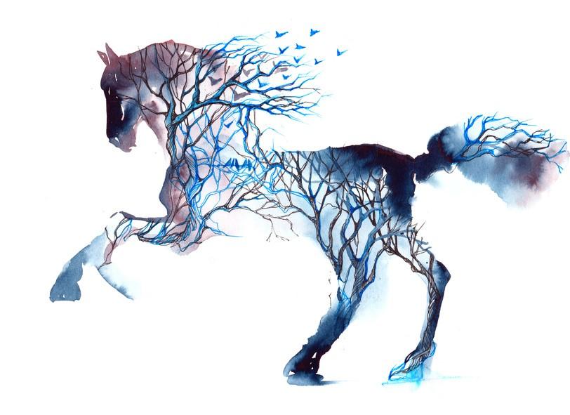 Free Spirited Horse