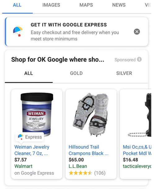 google express coupon 15 off