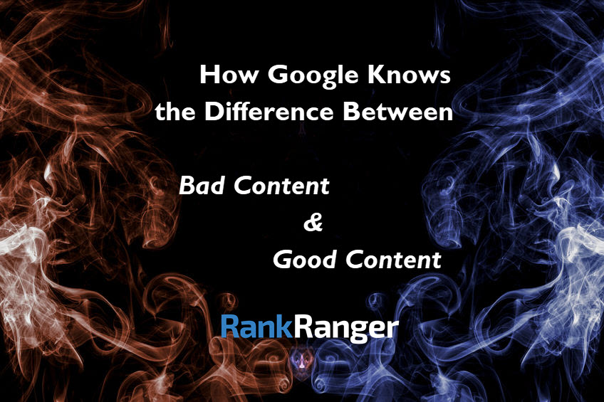 How Googles Knows Good Content from Bad - Banner