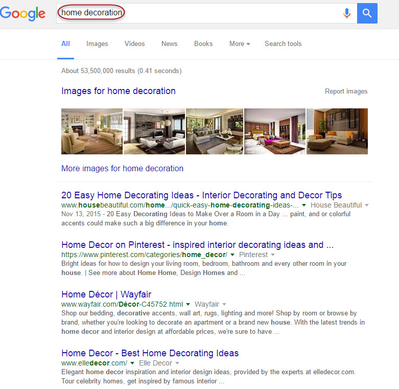 Search Results for Home Decoration