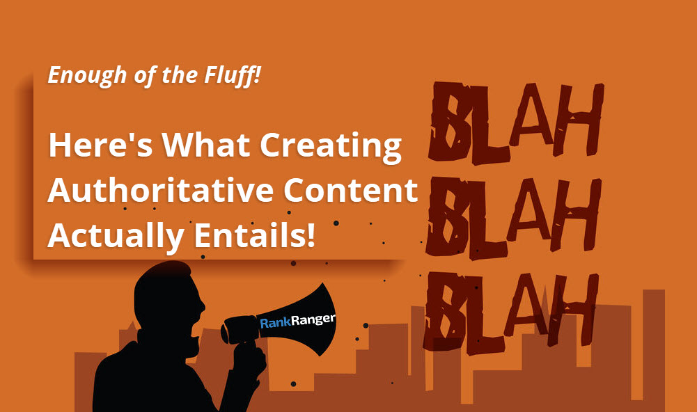 How to Write Authoritative Content Banner