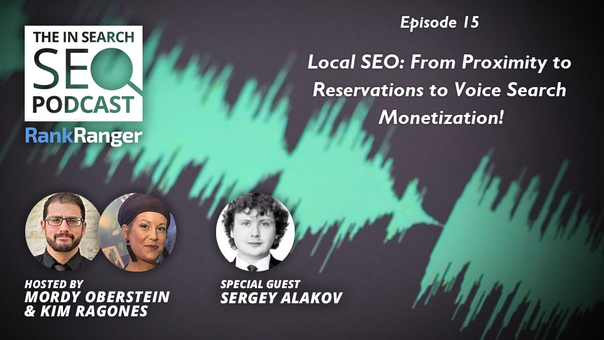 In Search SEO Podcast Banner