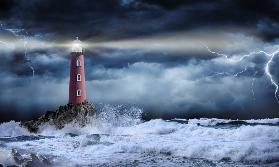 Light House Storm