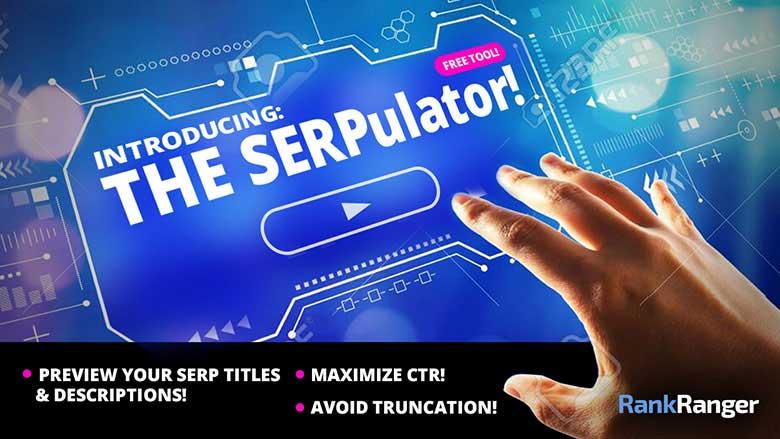 Banner de SERPulator
