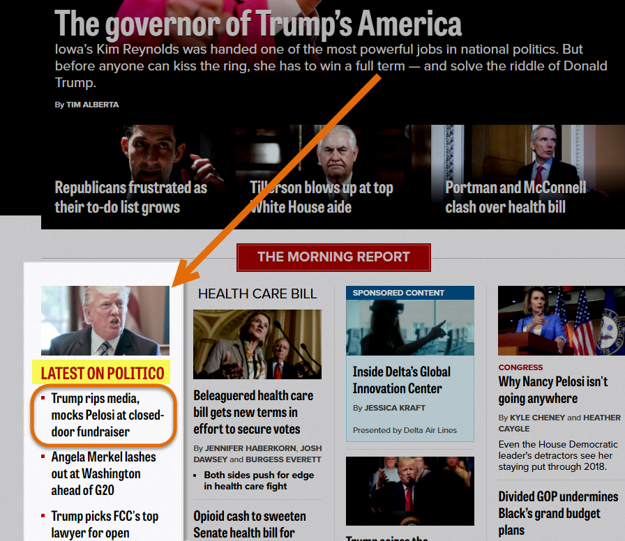 Latest News on Politico