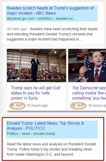 Politico.com No Carousel Result