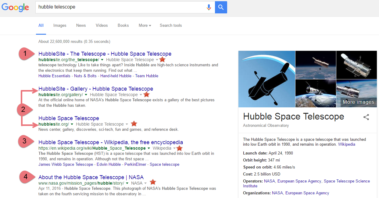 Hubble Telescop Query - With Notable Online