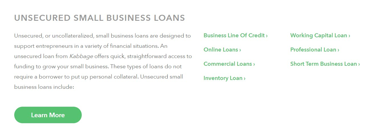 Kabbage.com Loan Snippet