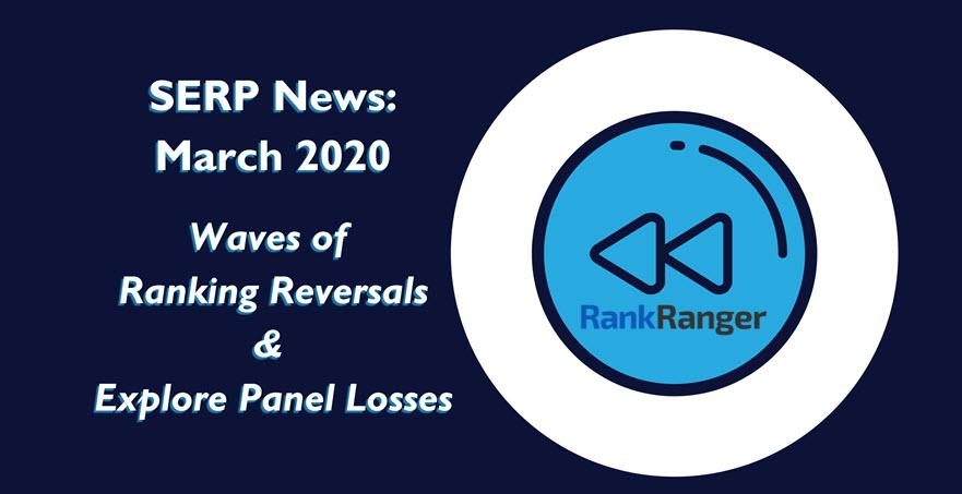 Bannière SERP News mars 2020