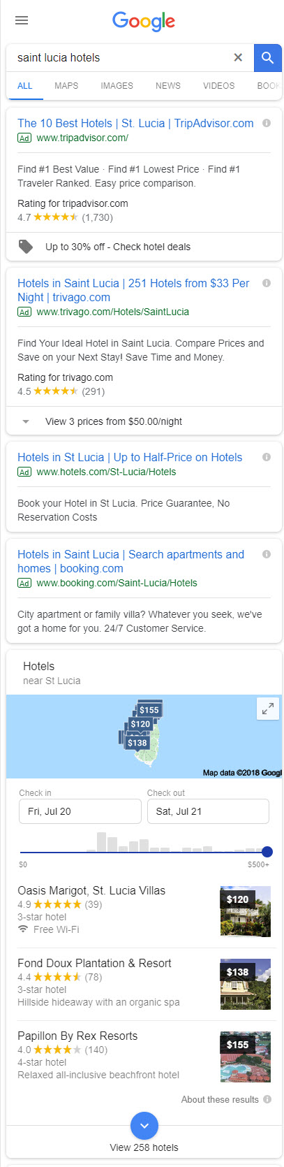 Local Pack - Saint Lucia Hotels