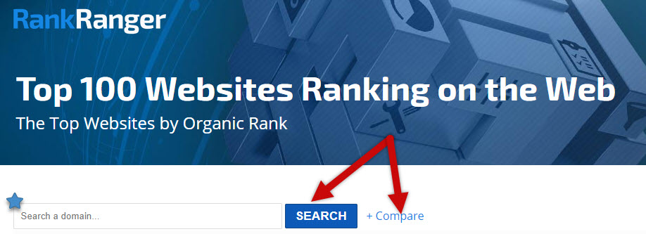 Top 100 Websites Search Box