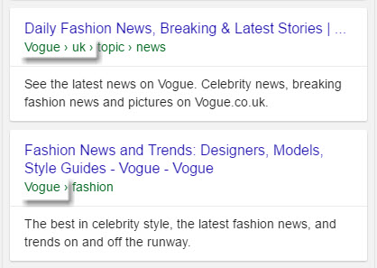 Vogue.com Fashion News Results