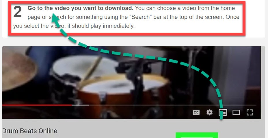 Second bold header for the blog post explaining how to download YouTube videos