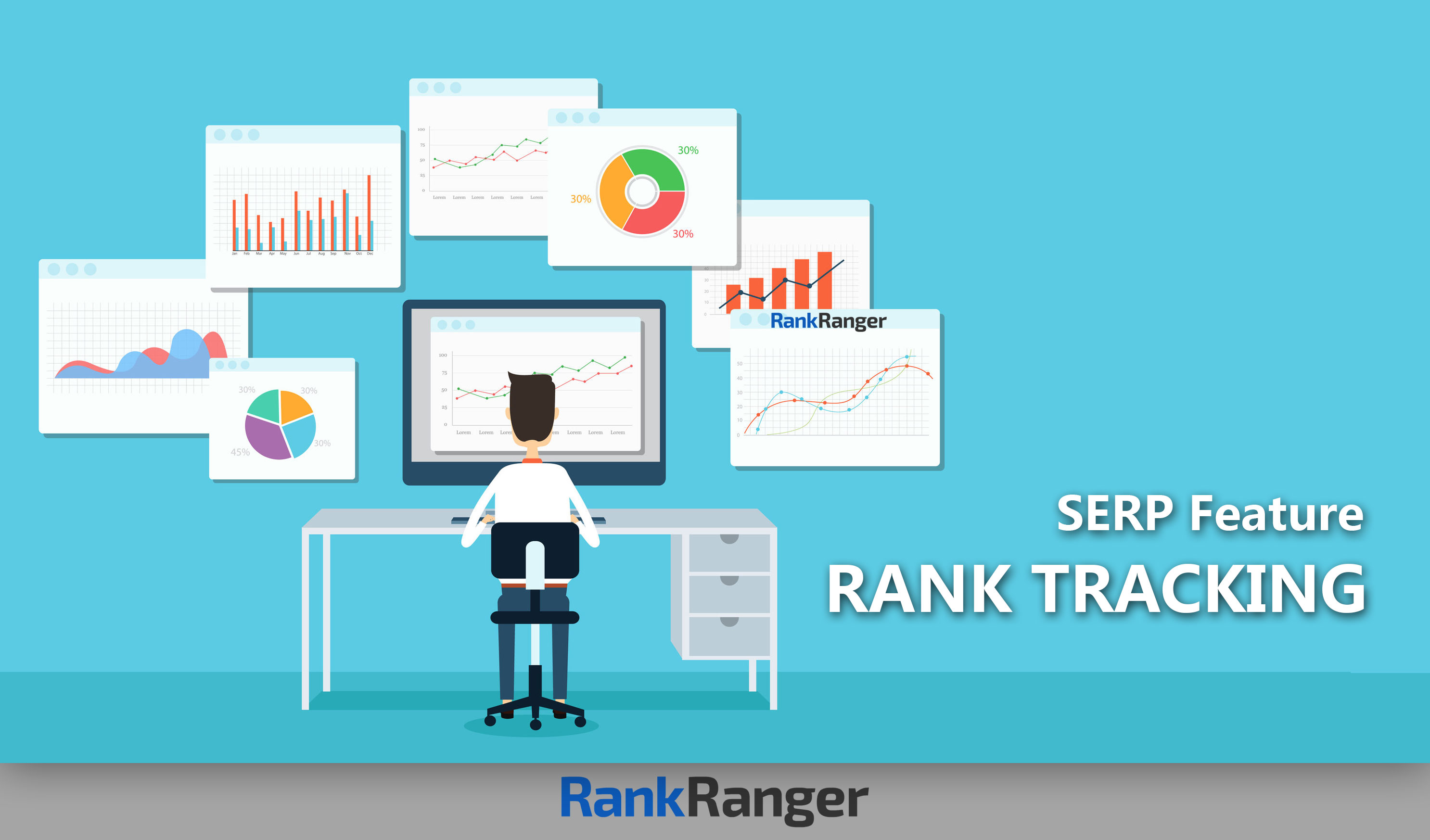 SERP feature rank tracking