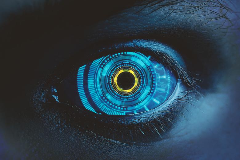 Mecánico de ojos