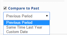 Select a custom Date Range
