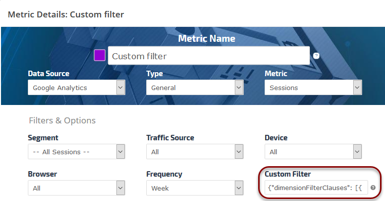 Google Analytics Custom Filters