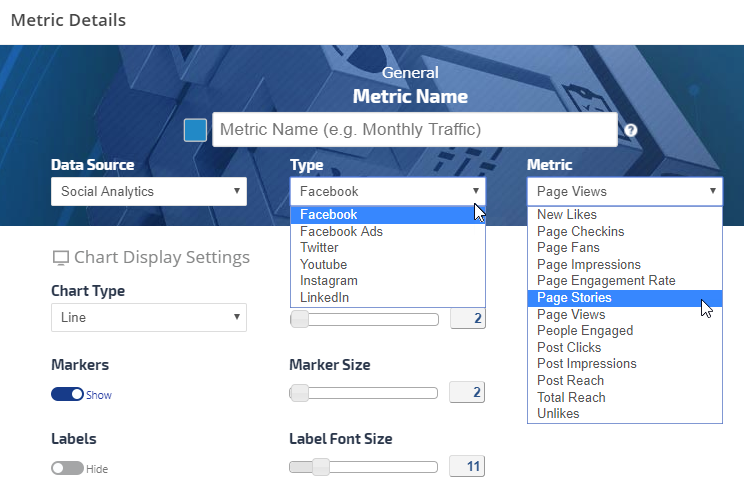 Facebook Analytics Options