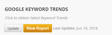 keyword trends settings