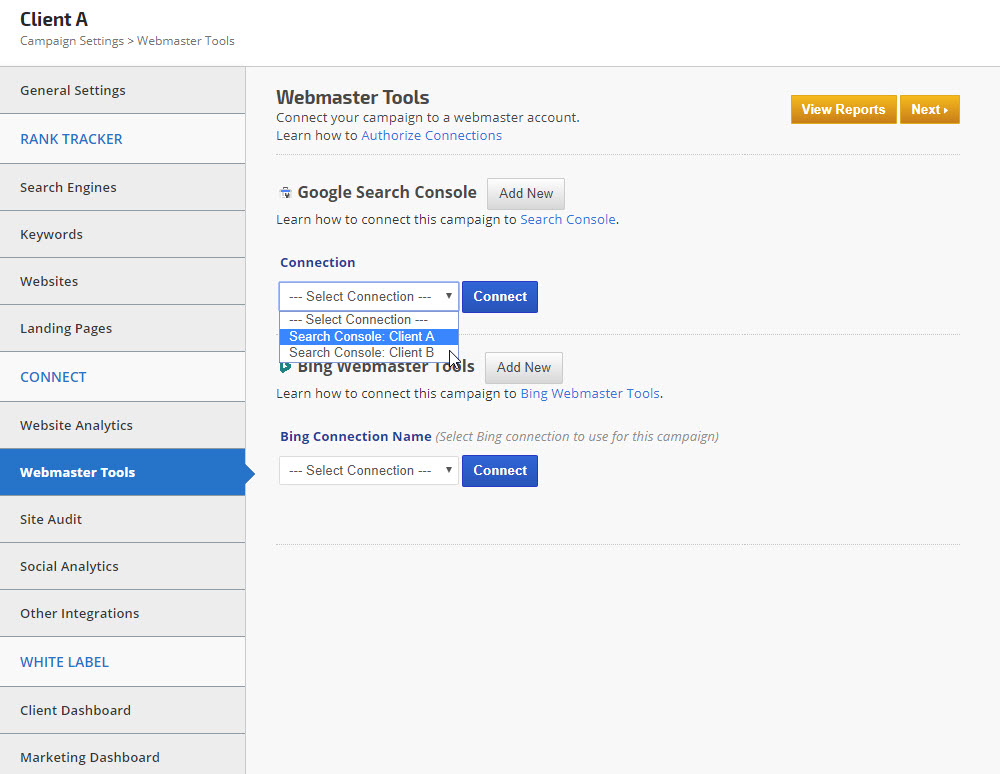 Google webmaster tools search console integration rank for Search console