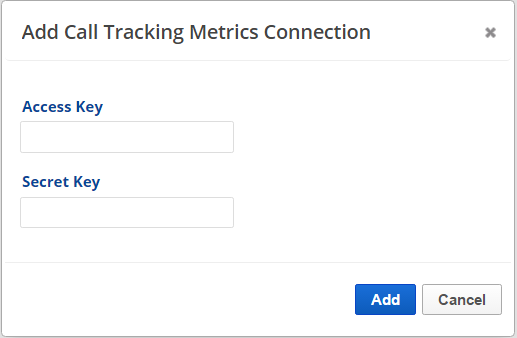 Set up Call Tracking Metrics account