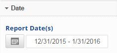 Report Dates