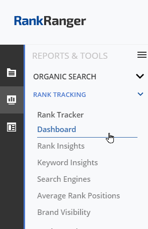 SEP Rank Tracking Reports