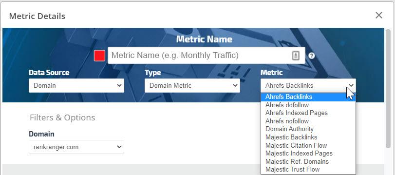 Domain Metric