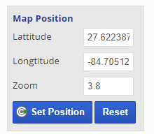 map position settings