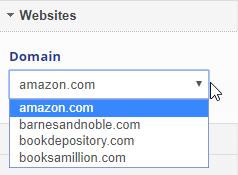 Select a Domain URL