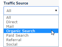 Select Traffic Source
