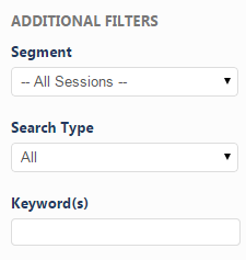 Select a Search Type