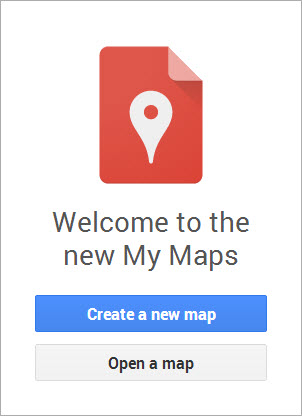 Google Brings Back My Maps - Map my vacation route