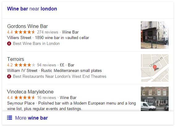 Google Changes Format for Local Results