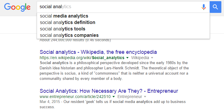 Google Suggest Search API